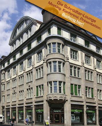 Schrödterhaus Leipzig - exklusive Büro- und Konferenzräume im Herzen der Leipziger City